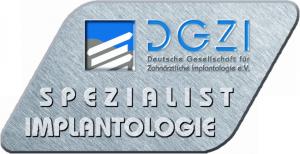 DGZI Spezialist Implantologie